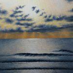 Amanecer en la playa de Carabassi